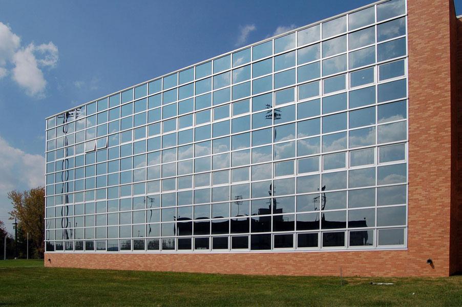نمای مدرن | طراحی نمای شیشه ای | نمای اسپایدر | نمای کرتین وال | دور وین گروپ