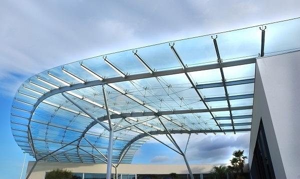 نمای مدرن | طراحی نمای شیشه ای | نمای اسپایدر | نمای کرتین وال | دروین گروپ